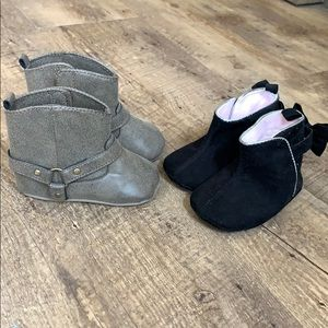 Two Pairs of Booties